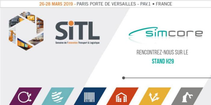 Présence de Simcore à la SITL du 26 au 28 mars 2019 à Paris