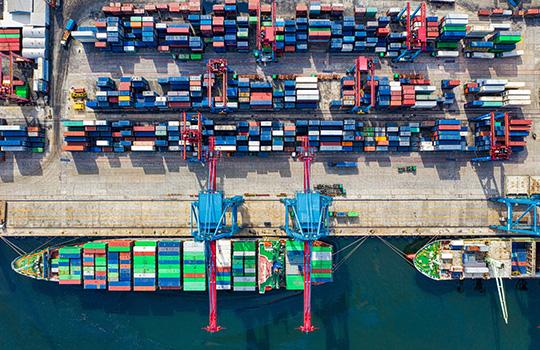 logistique des ports et terminaux