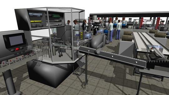 FlexSim un logiciel de Simulation Immersif