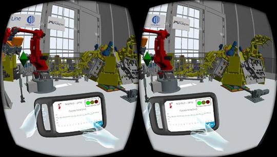 Simulación de flujo inmersivo Flexsim - Simcore