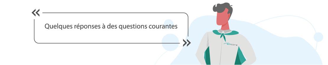 Réponses à des questions sur nos prestations de services